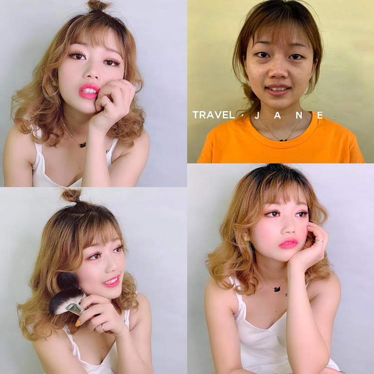 珠海化妆培训班个人生活妆面培训