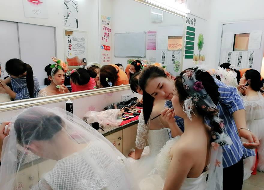 影楼化妆培训班作品练习
