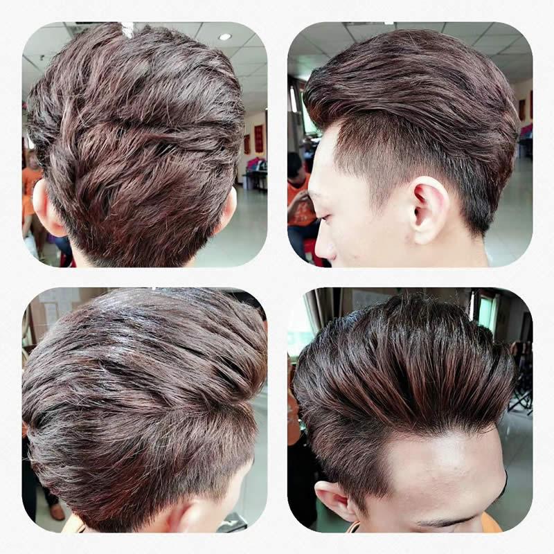 时尚男士发型图片