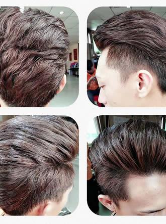 美发作品图片,时尚男士发型