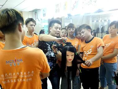 整体发型设计导师班