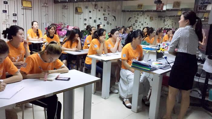 化妆班色彩课堂