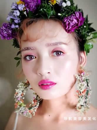 新娘鲜花造型
