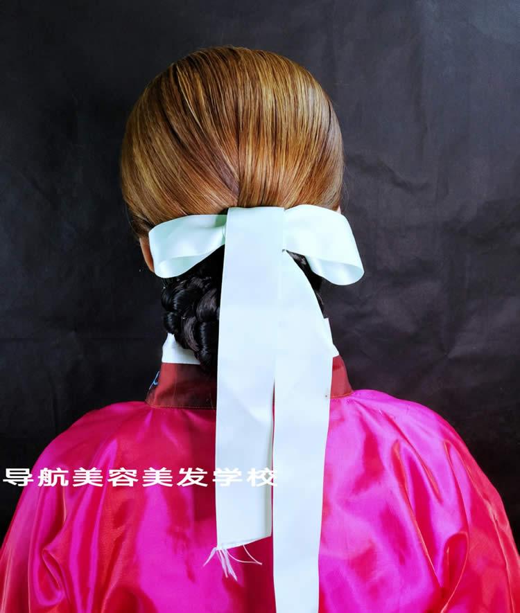 韩服造型妆面