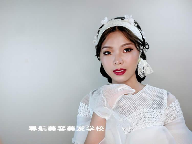 时尚新娘造型妆面