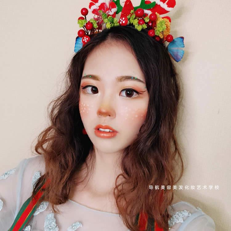 圣诞妆,可爱灵气又森系
