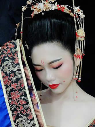 古装唐妆造型