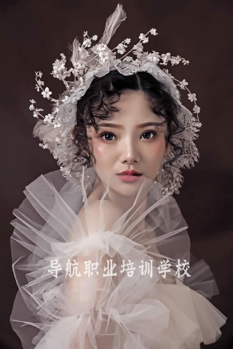 时尚新娘妆面造型