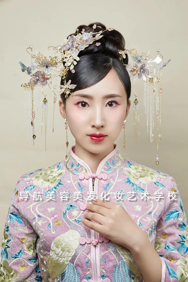 西式新娘造型妆面