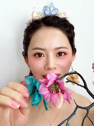 森系彩妆造型